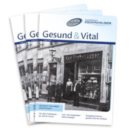 Gesund & Vital Newsletter Ausgabe 03/2018